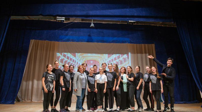 Мастер-класс для Лауреатов Московского театрального фестиваля
